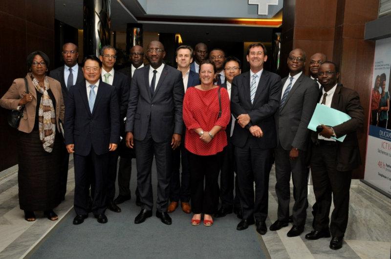 le ministre du Commerce, de l'Industrie et de la Promotion des PME, Souleymane Diarrassouba